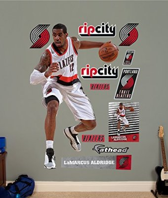 NBA-Portland-Trail-Blazers-LaMarcus-Aldridge-No-12-Fathead-Real-Big-Decals-48W-x-78H-0