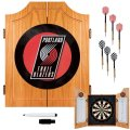 NBA-Portland-Trail-Blazers-Wood-Dart-Cabinet-Set-0