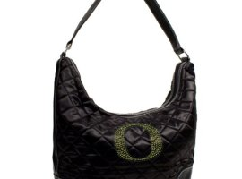 NCAA-Oregon-Ducks-Sport-Noir-Quilted-Hobo-Purse-Black-0
