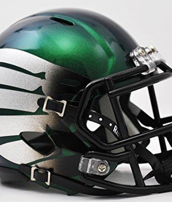 Oregon-Ducks-Speed-Mini-Helmet-Titanium-Thunder-Green-0