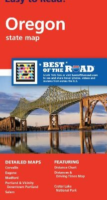 Rand-McNally-Easy-To-Read-Oregon-State-Map-0