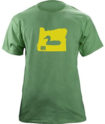 Classic-Vintage-I-Duck-Oregon-Original-T-Shirt-XL-Green-0