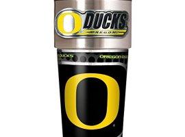 NCAA-Oregon-Ducks-Metallic-Travel-Tumbler-16-Ounce-0