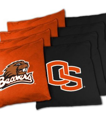 NCAA-Oregon-State-Beavers-16oz-Duckcloth-Cornhole-Bean-Bags-0