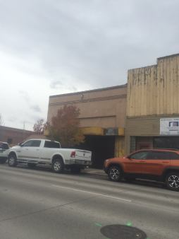 But since the Eady's began remodeling the old awning has reappeared. (Image from Odem Theater Pub Facebook)