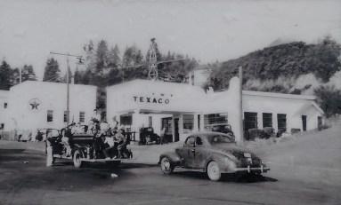 The Texaco Master Service Station.