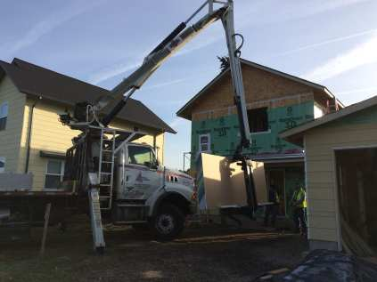 Delivering the drywall