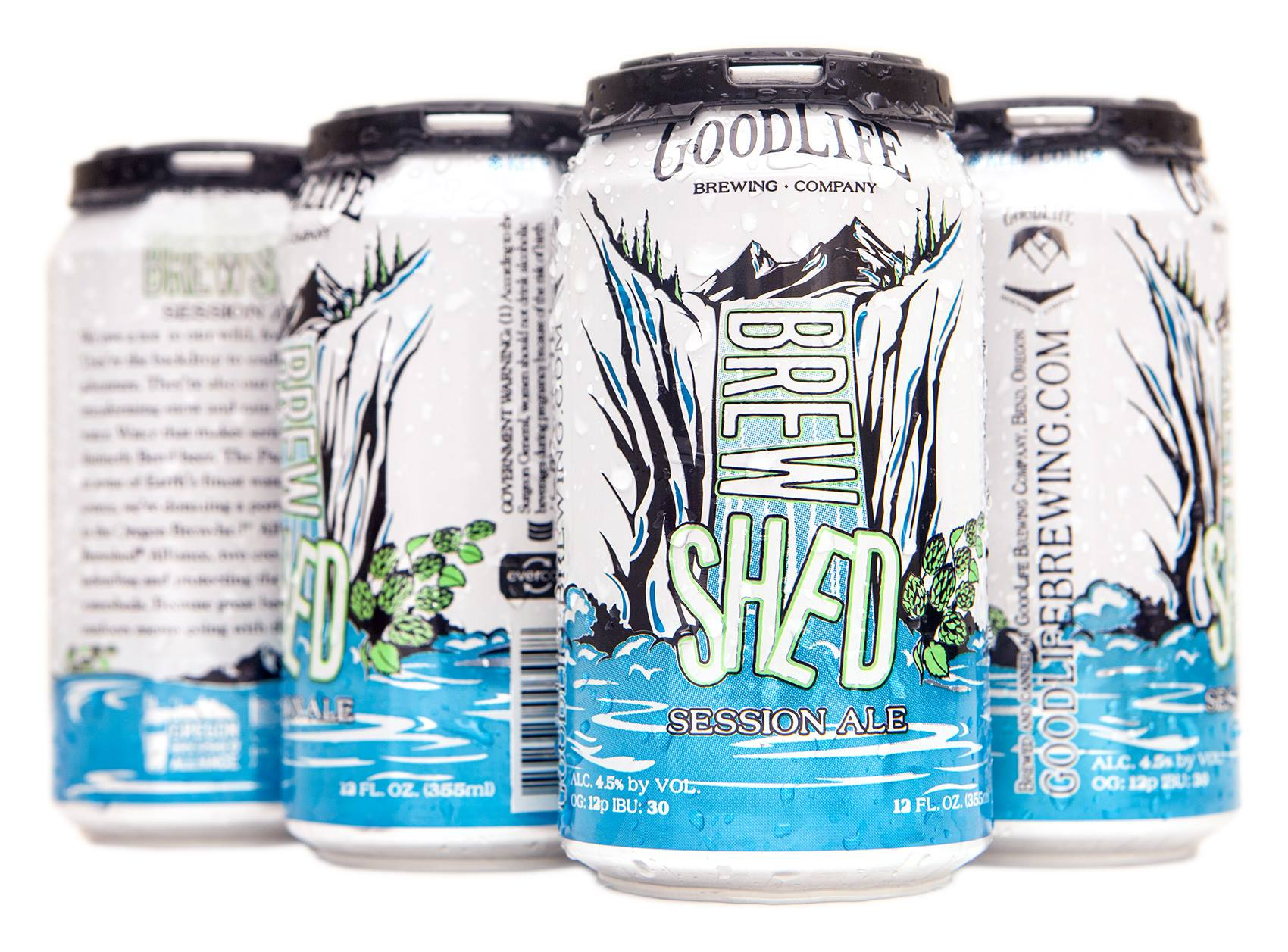 Brewshed® Session Ale (courtesy of GoodLife Brewing)