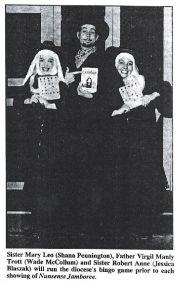 Nunsense Jamboree Newspaper Clipping