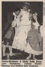 Panto-Monium Newspaper Clipping