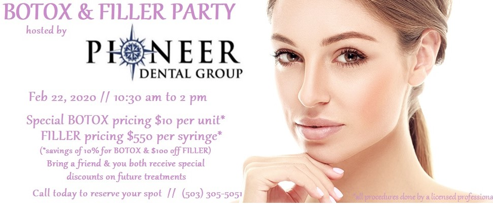 Botox and Filler party at Pioneer Dental