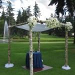 Birch Wedding Chuppah