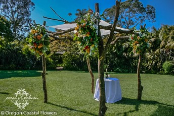 Elegant Wood Wedding Chuppah