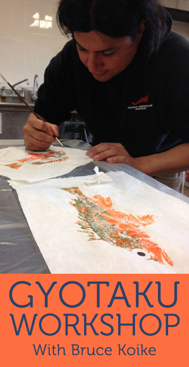 gyotaku workshop