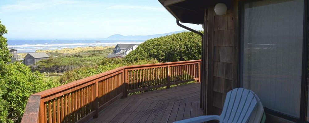 Sea Bella Oregon Coast Vacation Rental - Oceanview Deck