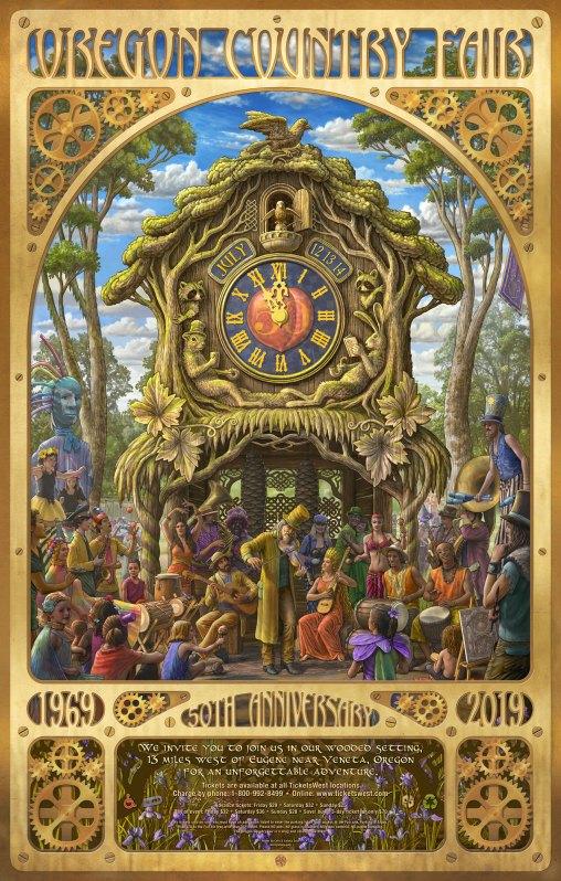 oregon country fair poster