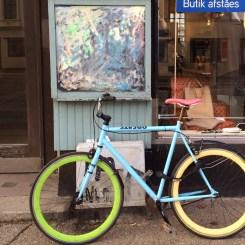 When bikes match walls