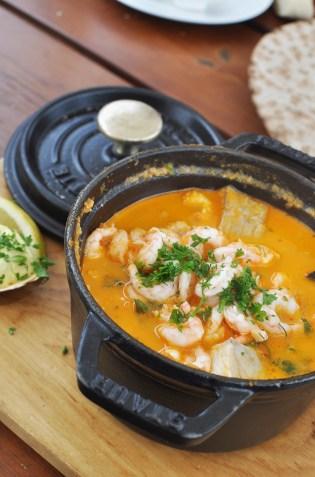 Fish Soup from Fiskekajen in Båstad Harbor | See Tiny Torekov in Skåne Southern Sweden | Oregon Girl Around the World