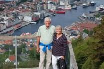 Bergen from atop Mt. Fløien