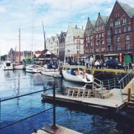Bergen, Norway harbor