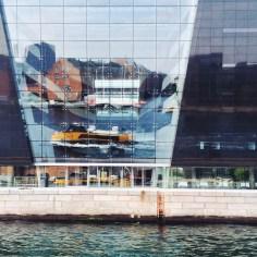 Water taxi on Copenhagen Harbor
