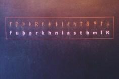 Am I speaking in runes?