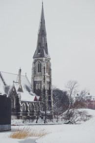 Copenhagen under snow