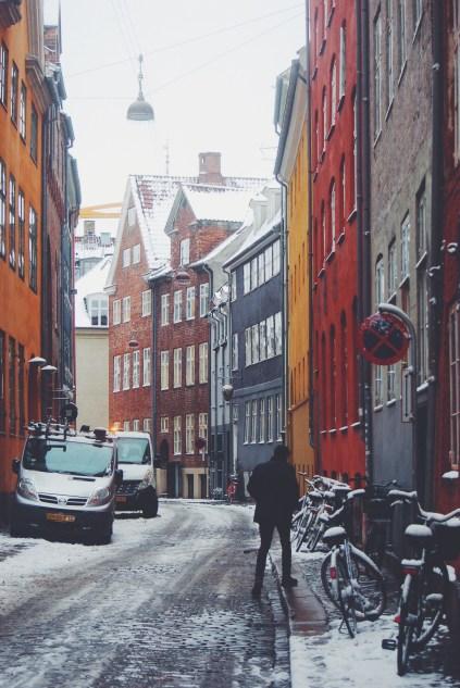 Winter in gamle Copenhagen