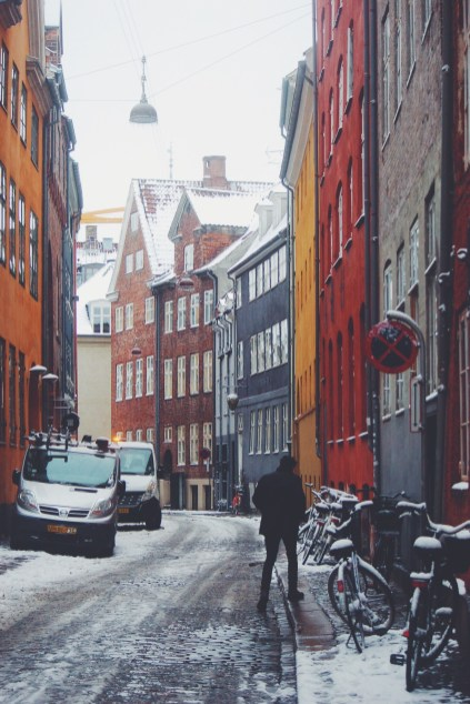 Winter in gamle Copenhagen