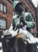 Flat Stanley meets Hans Christian Andersen Copenhagen Denmark