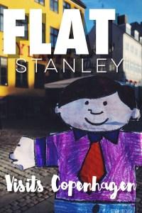 Flat Stanley visits Copenhagen Denmark