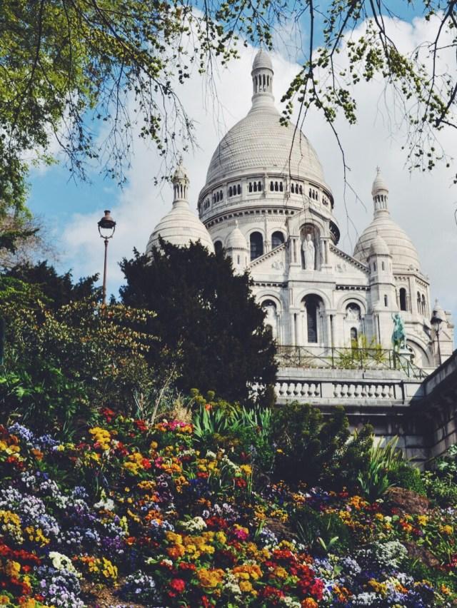 Paris France Montmartre travel with tween