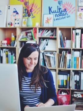 Mai-Britt Amsler's Kødbyen studio, Copenhagen Denmark