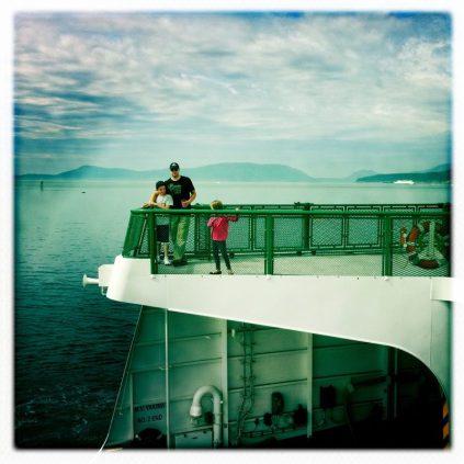 Washington State Ferry from Anacortes, Washington