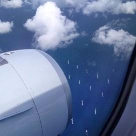 Flying around the world to Copenhagen