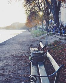 Sortedam Sø - grab a seat at an iconic Copenhagen bench