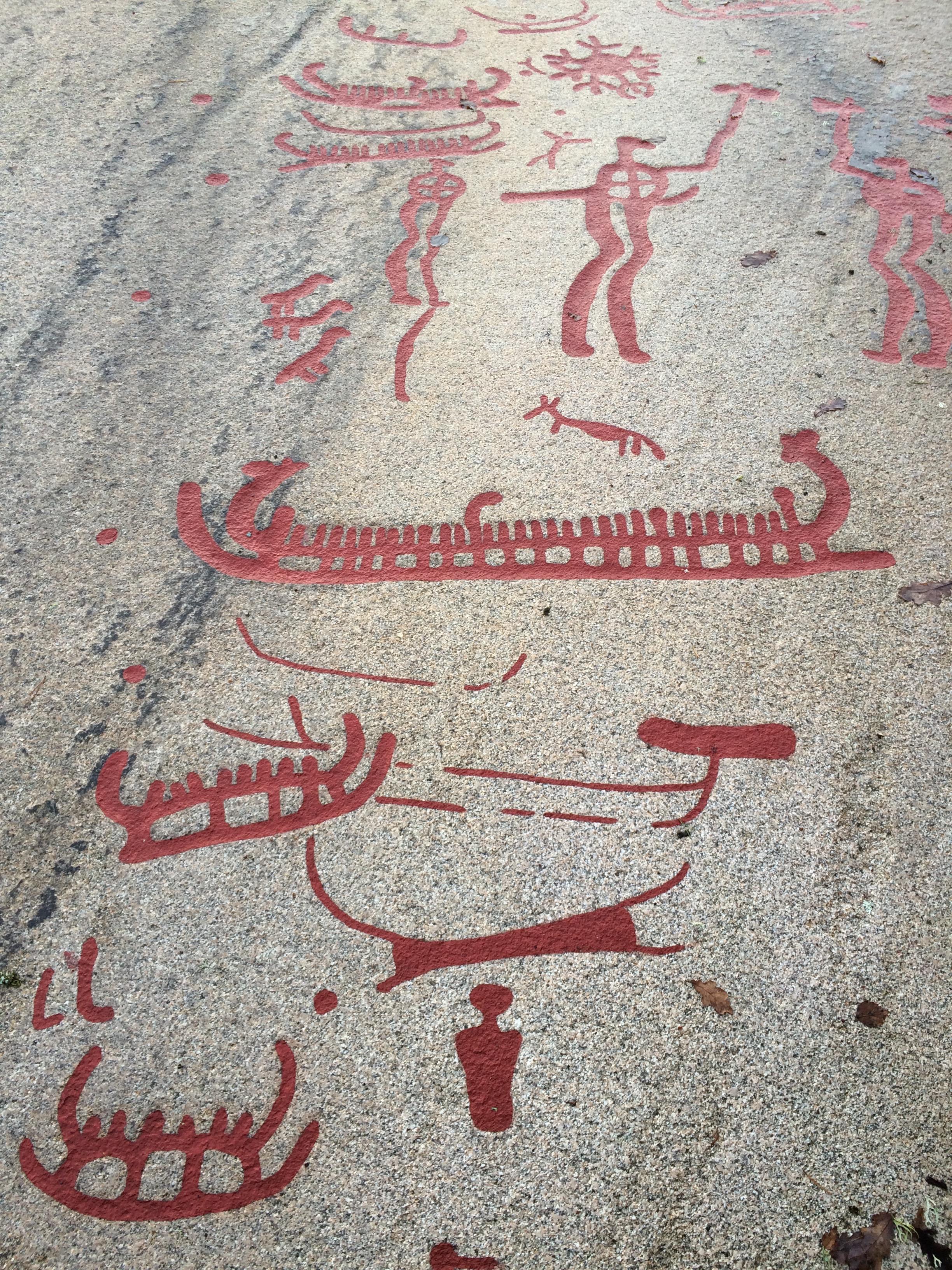 Konstlistancom rock carvings art petroglyph scandinavia