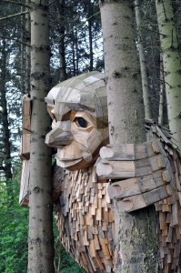Looking for Giants   A Day out in Denmark Seeking the 6 Forgotten Giants   A Public Sculpture Treasure Hunt by artist Thomas Dambo   via Oregon Girl Around the World