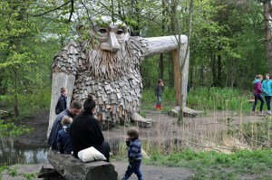 Looking for Giants | A Day out in Denmark Seeking the 6 Forgotten Giants | A Public Sculpture Treasure Hunt by artist Thomas Dambo | via Oregon Girl Around the World