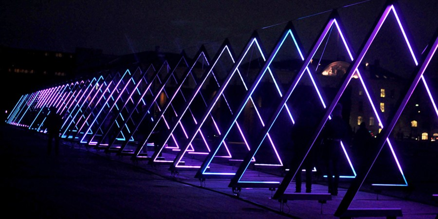 Lighten Up Copenhagen with Winter Light Festival