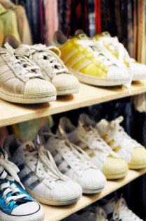 Adidas Originals at Soul Shine Vintage Second Hand Shop in Aarhus Denmark   Sustainable City of Culture   Oregon Girl Around the World