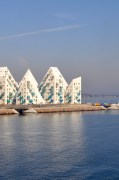 Isbjerget The Iceberg Apartment Houses on Aarhus Harbor | Oregon Girl Around the World