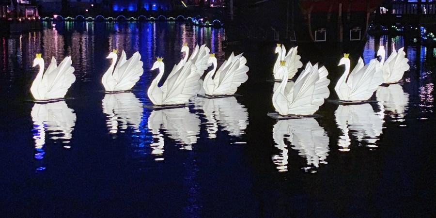 Tivoli Gardens Lights up Winter in Copenhagen