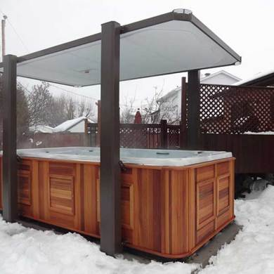 Covana Gazebos   Oregon Hot Tub Product Image