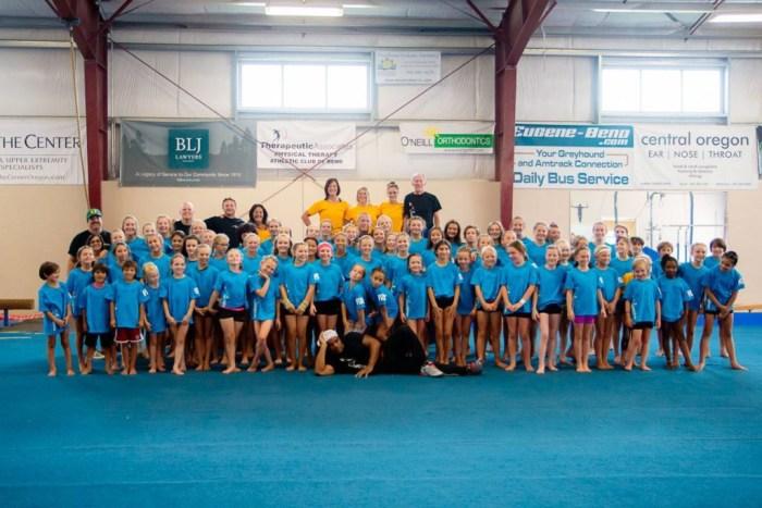 Dan Alchs camp of Champions Bend Oregon Gymnastics