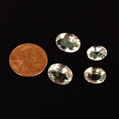 Faceted Oregon sunstones are beautiful, and sparkly!