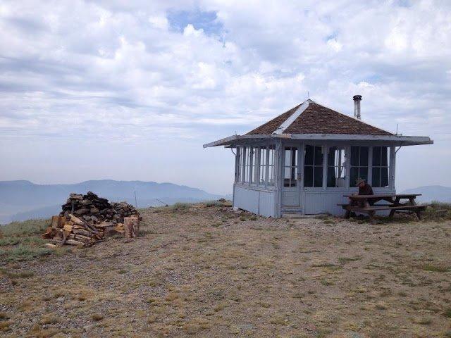 Drake Peak Lookout Cabin