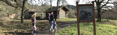 The perfect path for a rainy-day walk with kids - Willamalane Middle Fork Path from Dorris Ranch