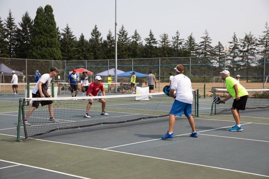 2021 Oregon Senior Games - Pickleball - Amanda Loman