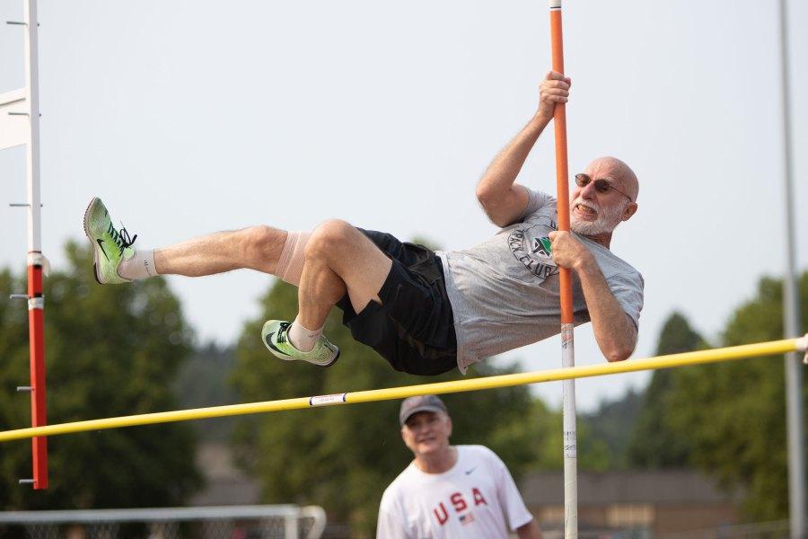 2021 Oregon Senior Games - Track & Field - Amanda Loman